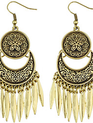 Women's Drop EarringsDangling Style Pendant Friendship Tassels Statement Jewelry Bikini Africa Fashion Simple Style Vintage USA Bohemian