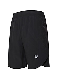 Men's Running Shorts Moisture Wicking Quick Dry Breathable Shorts for Running/Jogging Exercise & Fitness Loose Black
