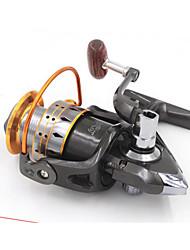 Reel Fishing Roulement Moulinet spinnerbaits 5.2:1 13 Roulements à billes EchangeablePêche d'eau douce Pêche au leurre Pêche générale