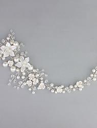 Imitation de perle Acrylique Strass Casque-Mariage Occasion spéciale Serre-tête 1 Pièce