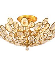 Lightmyself 3 světla zlatá moderní krystalová stropní svítidla vnitřní světla pro obývací pokoj ložnice jídelna