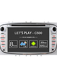 Ownice c500 octa core 32gb rom 2gb ram android 6.0 gps navi radio for ford focus mondeo s-max galaxy tourneo connect транзитная поддержка