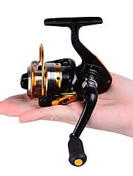 HiUmi MINI Small Fishing Reels 10bb 5.21 Carretilha Pesca Fly Fishing Wheel Spinning Reel Metal 150 Size Reel
