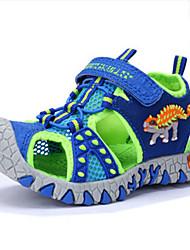 Boys' Sandals Kids Comfort Cowhide Summer Casual Shoes Children 3D Dinosaur Beach Fashion Sandals