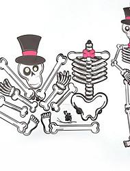 Halloween, papier, diy, pendentif, fantôme, festival, tridimensionnel, squelette, zombie, vampire, décoration, décoration, vacances,