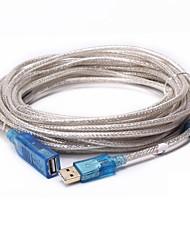 USB 2.0 Cabo de extensão, USB 2.0 to USB 2.0 Cabo de extensão Macho-Fêmea 25.0m (80 pés)