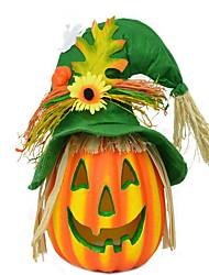 Хэллоуин пугало тыквы огни бар торговый центр декоративный реквизит детский сад тыква свет милый тыквенный фонарь