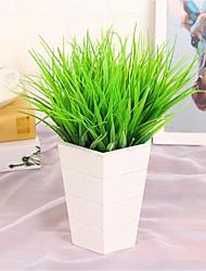 6 Piece / Set Imitation Grass/Plastic Grass/Green Plants/Tree Decorations/Flower Arrangement Materials