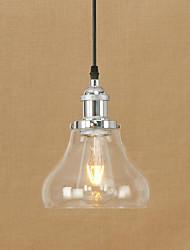 Luz de colgante moderno / retro contemporáneo país pintura característica de bombilla led edison mini estilo diseñadores sala de