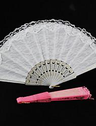 Double Layer Lace Hand Fan (More Colors)1 Piece/Set Hand Fans Wedding Laces