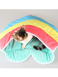 Cat Bed Pet Liners Rainbow Washable Rainbow