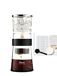 Hero Z209 Ice Cream Coffee Pot Drip Glass Ice Coffee Machine 2-4 Cups