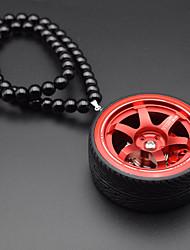 Pendentifs automobiles diy pendentif créatif pour roues&Ornements en métal