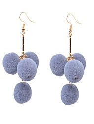 Women's Earrings Set Cute Style Fashion Personalized Alloy Ball Jewelry For Daily Casual Going out Club Street