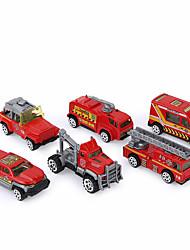 Véhicule de Pompier Véhicule Jouets de voiture 1:64 Plastique Carbone en alliage d'aluminium