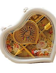 Caja de música Con Forma de Corazón Plásticos