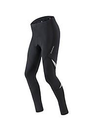 Mallas Bib de Ciclismo Hombre Bicicleta Leggings Resistente al Viento Listo para vestir Elastán Chinlon Un Color Ciclismo de Montaña