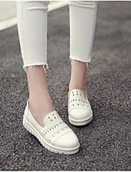 Women's Sneakers Comfort Denim Summer Casual Comfort Black White Flat