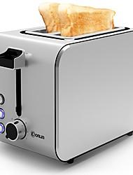 Brotmaschinen Toaster Neuheiten für die Küche 220VTimer Multifunktion Timing-Funktion Licht und Bequem Niedlich Geräuscharm