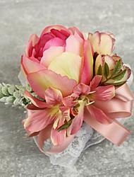 """Fleurs de mariage Petit bouquet de fleurs au poignet Cérémonie de mariage Occasion spéciale Perle Dentelle 3.15""""(Env.8cm)"""