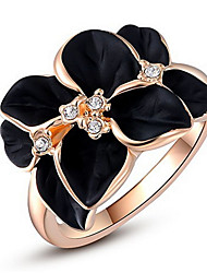 Midi Rings Band Rings Women's  Fashion Luxury Classic Elegant Flower Rings for Birthday Party Movie Gift Jewelry