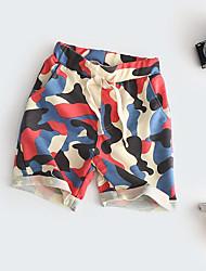 Short Fille Camouflage Coton Eté