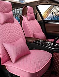 Assento do assento do assento assento da tampa do banco quatro estações geral linho cercado por um carro da família de cinco lugares para