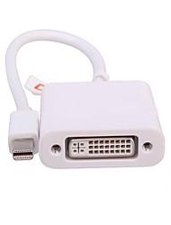 Mini Displayport Adaptateur, Mini Displayport to DVI Adaptateur Mâle - Femelle 0.1m (0.3Ft)