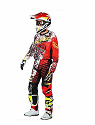MOTOBOY T21P21 Motorcycle Set Motorcycle Riding T-Shirt Quick-Drying Moisture Breathable Drop Pants Male
