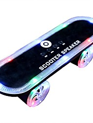 LED Flashing Lights Scooters Bluetooth Speakers Card Usb Wireless Audio Factory Direct Creative Gift Subwoofer