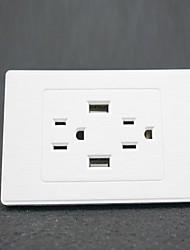 Электрические розетки PP С выходом USB-зарядного устройства 12*7*4