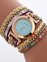 Women's Kid's Bracelet Watch Unique Creative Watch Casual Watch Chinese Quartz Water Clock PU BandCharm Unique Creative