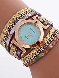Mujer Niños Reloj de Moda Reloj de Pulsera Reloj Pulsera Reloj creativo único Reloj Casual Chino Cuarzo Resistente al Agua PU Banda