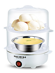 MAKE JOY ZD32 MJ-2116 Egg Cooker Fully-automatic Double Eggboilers Multifunction Washable Detachable 220V Automatic Power Off