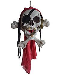Ornement de halloween maman une tête de poney tête de squelette