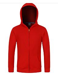 Women's Sports Hoodie Solid Hooded Micro-elastic Cotton Long Sleeve Winter