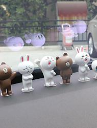 DIY автомобильные украшения мультфильм милые куклы автомобиль подвеска&Украшения пвх