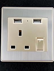 Prese elettriche Acciaio inossidabile Con l'uscita del caricatore USB 8*8*4