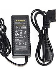 Adaptateur secteur 1pcs 12v 5a ac-dc pour bande led 5050/3528/5630/3014 alimentation électrique us / uk / eu / au prise standard