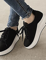Women's Sneakers Comfort Fabric Winter Casual Blushing Pink Black 2in-2 3/4in