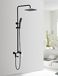 Artistic Shower System Ceramic Valve Oil-rubbed Bronze , Shower Faucet