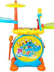 Обучающая игрушка Игрушечные инструменты Игрушки Пианино Ударная установка Музыкальные инструменты Барабанная установка Для детей