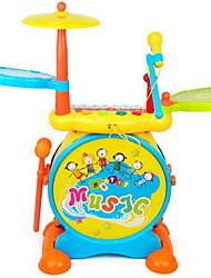 Toy Instruments Drum kit Musical Instruments Stars Cartoon