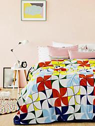 Flanelle Géométrique Polyester couvertures
