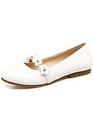 Femme Ballerines Confort Chaussures de Demoiselle d'Honneur Fille Semelles Légères Similicuir Printemps Automne Mariage HabilléRivet
