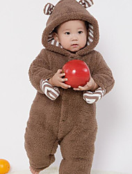 Baby Solid Color One-Pieces,Cotton Winter