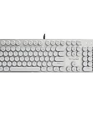 Vapor punk retro abs keycap 104 teclas definidas para teclado mecânico