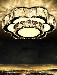 LED Crystal Light Absorb Dome Light Bedroom Light Creative Flower Sweet Romance Circular Corridor Lamp Porch Balcony Lighting Lamps And Lanterns