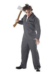 Costumes de Cosplay Squelette/Crâne Zombie Cosplay Fête / Célébration Déguisement d'Halloween Rétro Collant Halloween CarnavalMasculin