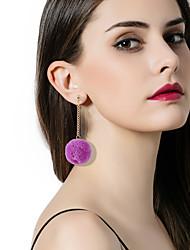 Women's Drop Earrings Hoop Earrings Fashion Vintage Bohemian Personalized Resin Alloy Jewelry For Stage Date Club Street